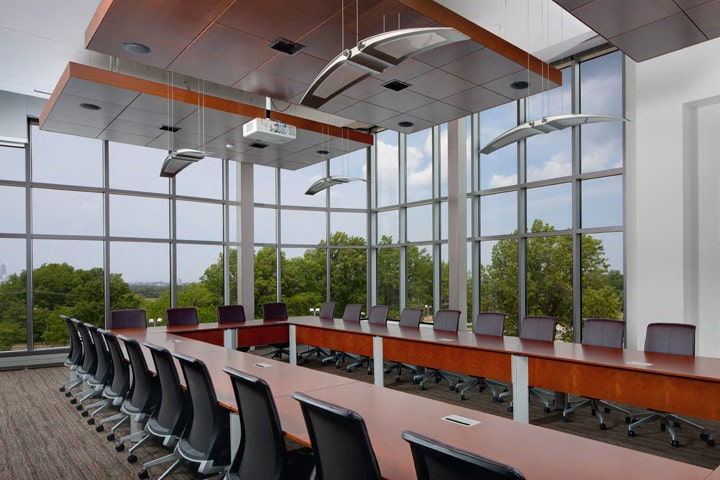 The Board Room at Benjamin Rose Institute on Aging headquarters